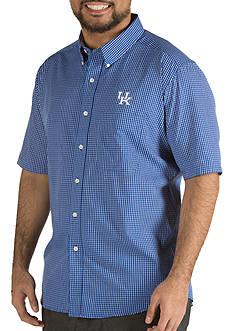 Antigua Kentucky Wildcats Short Sleeve Button Down