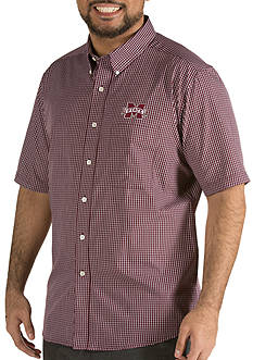 Antigua® Mississippi State Bulldogs Short Sleeve Button Down
