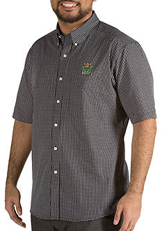 Antigua® Marshall Thundering Herd Short Sleeve Button Down