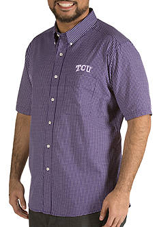 Antigua® TCU Horned Frogs Short Sleeve Button Down