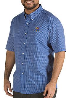 Antigua Kansas State Jayhawks Short Sleeve Button Down