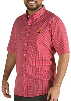 Antigua Iowa State Cyclones Short Sleeve Button Down