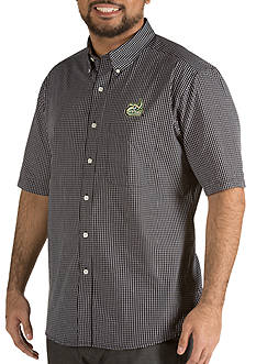 Antigua® Charlotte 49ers Short Sleeve Button Down