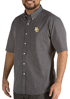 Antigua® Baylor Bears Short Sleeve Button Down