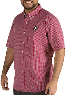 Antigua® Florida State Seminoles Short Sleeve Button Down