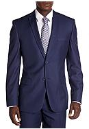 Nicole Miller Slim Fit Solid Suit Separate Jacket
