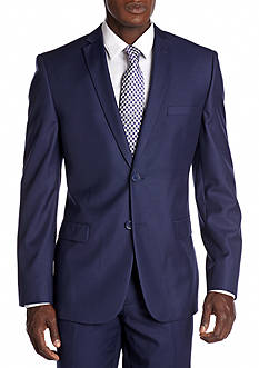 Nicole Miller Slim Fit Solid Suit Separate Jacket