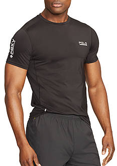 Polo Sport Mesh-Panel Compression T-Shirt
