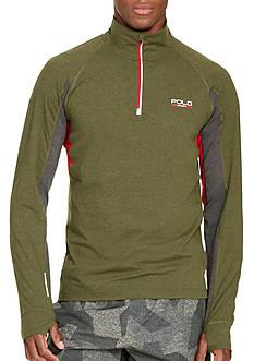 Polo Sport Jersey Mockneck Pullover