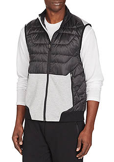 Polo Sport Paneled Full-Zip Vest