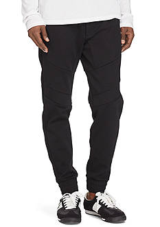 Polo Sport Double-Knit Moto Jogger Pants
