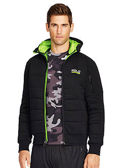 Polo Sport Quilted Fleece Jacket