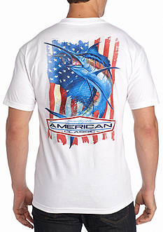 Saddlebred® American Classic Sailfish Graphic Tee