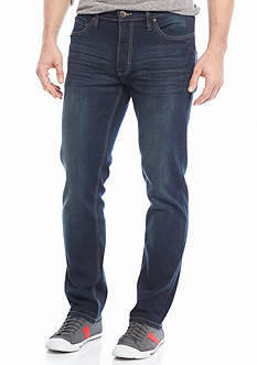 Red Camel® Stretch 5-Pocket Washed Slim Straight Jeans