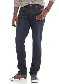 Red Camel Dark Wash Slim Tapered Stretch Fit Jeans