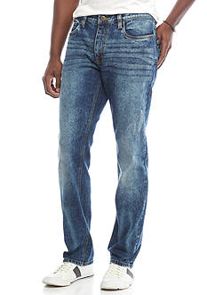 Red Camel Slim Fit Straight Leg Stretch Jeans