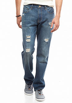 Red Camel® Vintage Destructed Original Straight Jeans