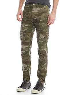 Red Camel Camo Utility Cargo Pants