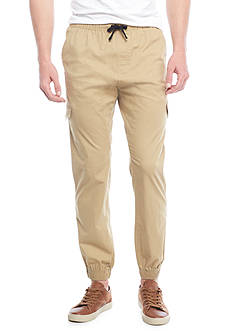 Red Camel® Light Weight Stretch Twill Cargo Jogger Pants