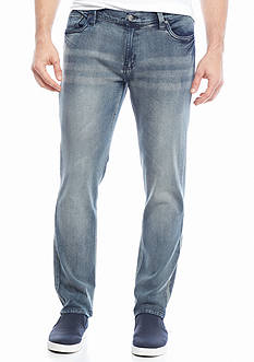 Red Camel® Tapered Stretch Slim Denim Jeans