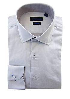 Andrew Fezza Slim Fit Solid Dress Shirt