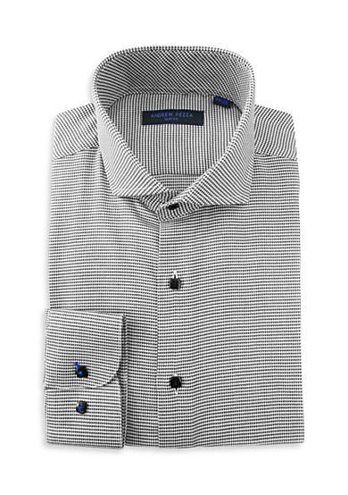 Andrew Fezza Slim Fit Mini Check Dress Shirt Belk