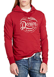 Denim & Supply Ralph Lauren Hooded Jersey Graphic Tee