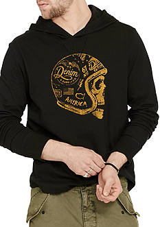 Denim & Supply Ralph Lauren Jersey Hooded Graphic Tee