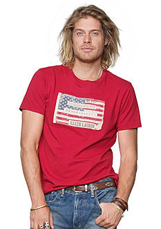 Denim & Supply Ralph Lauren Solid Flag T-Shirt