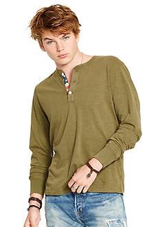 Denim & Supply Ralph Lauren Long Sleeve Henley Shirt