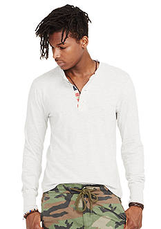 Denim & Supply Ralph Lauren Long Sleeve Henley Shirt