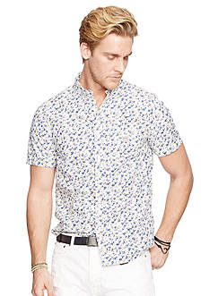 Denim & Supply Ralph Lauren Floral Cotton Sport Shirt