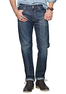 Denim & Supply Ralph Lauren Straight-Fit Saginaw-Wash Jeans