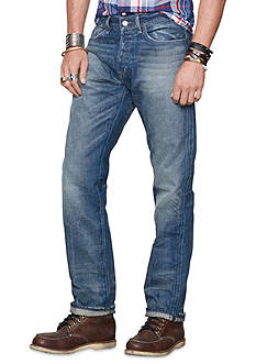 Denim & Supply Ralph Lauren Straight-Fit Traverse-Wash Jeans