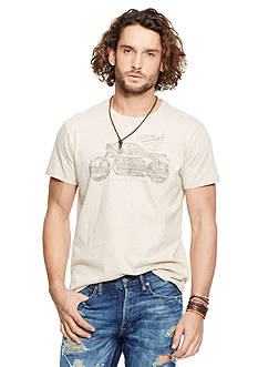 Denim & Supply Ralph Lauren Short Sleeve Crew Graphic Tee