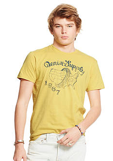Denim & Supply Ralph Lauren Cotton Jersey Graphic Tee