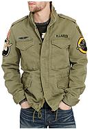 Denim & Supply Ralph Lauren Military Patches