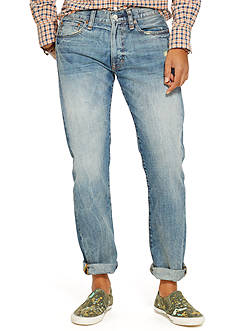Denim & Supply Ralph Lauren Slim-Fit Faded Jeans