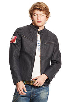 Denim & Supply Ralph Lauren Waxed Canvas Moto Jacket