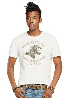 Denim & Supply Ralph Lauren Short Sleeve Cotton Jersey Graphic Tee