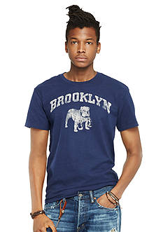 Denim & Supply Ralph Lauren Crewneck Cotton Graphic Tee