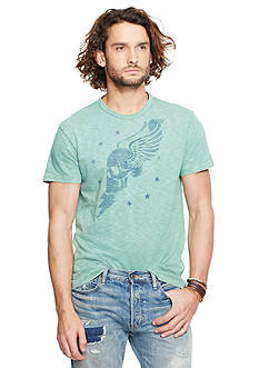Denim & Supply Ralph Lauren Winged-Skull Graphic Tee
