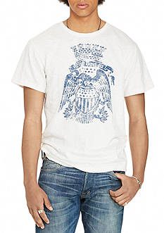 Denim & Supply Ralph Lauren Jersey Eagle Graphic Tee