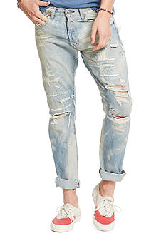Denim & Supply Ralph Lauren Slim-Fit Distressed Jeans