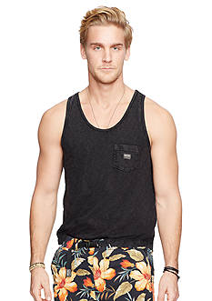 Denim & Supply Ralph Lauren Slub Cotton Jersey Pocket Tank