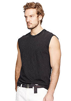 Denim & Supply Ralph Lauren Slub Cotton Jersey Muscle Tee