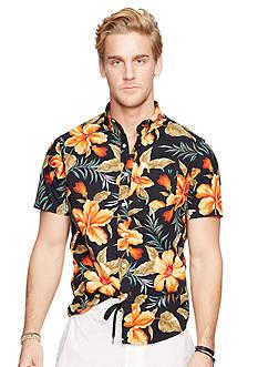 Denim & Supply Ralph Lauren Floral Poplin Sport Shirt