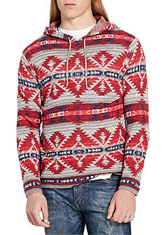 Denim & Supply Ralph Lauren Long Sleeve Southwestern Cotton Hoodie