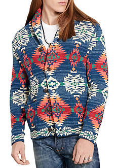 Denim & Supply Ralph Lauren Long Sleeve Southwestern Cotton Cardigan