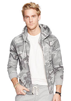 Denim & Supply Ralph Lauren Camo Fleece Full-Zip Hoodie